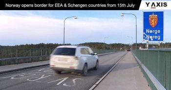Norway reopen borders
