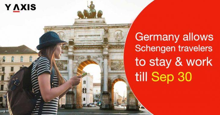 Schengen visa holders in Germany