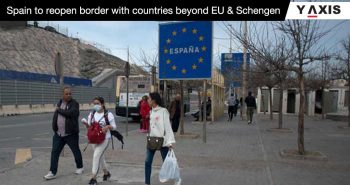 Spain reopens borders to Europe