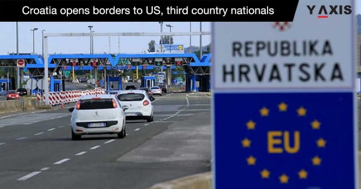 Croatia reopens borders for US