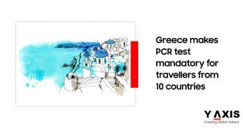 Greece makes COVID-19 test mandatory