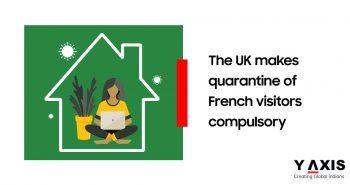 The UK makes quarantine of French visitors compulsory